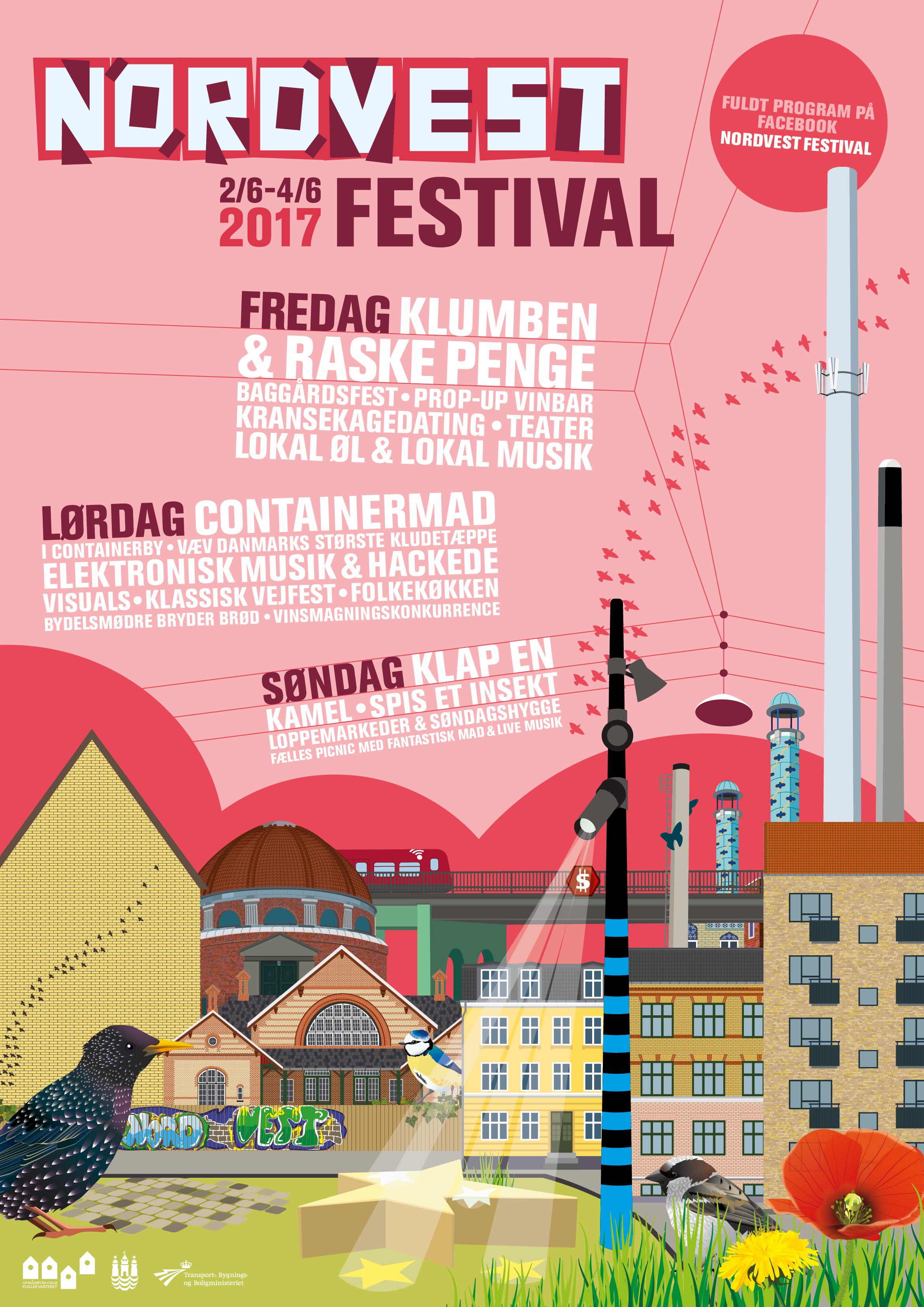 Nordvest Festival plakat