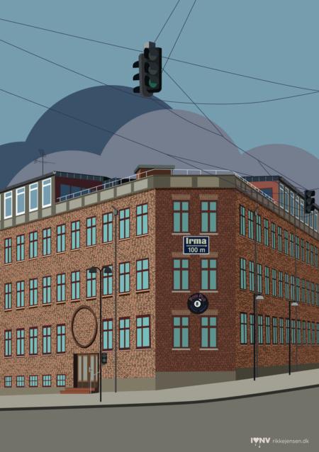 Irmareklame Tomsgårdsvej/Rentemestervej